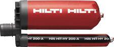 12 x Hilti Hit-1 Injektionsmörtel OVP MHD 062019 Nass und Trocken Kleber 2173257