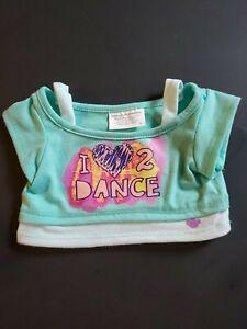 Build A Bear I Love 2 Dance Heart Top Shirt Teddy Clothes