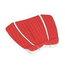Surfboard Traction Pad - 3 Piece Square Red | Skimboard