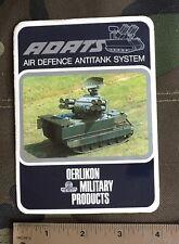 Oerlikon Military Products, ADATS Sticker