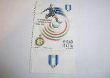 Campionato italiano di Calcio serie A 2006–07 Champion F.C. Inter Milan - Stamp