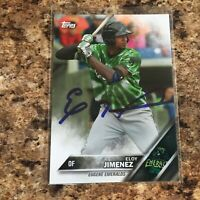 Eloy Jimenez Signed 2016 Topps Pro Debut Rc Auto Chicago White Sox Cubs