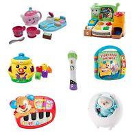 Fisher Price Spielzeug Lachen & Lernen Verschiedene Spielset Tee Set Mikrofon