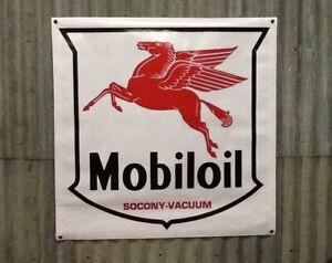 Large 900 x 900mm Mobil Banner Sign, Shed, Man cave, Garage,