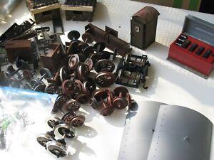 sehr großes KONVOLUT Ersatzteile, Ausschmückteile SPUR G / LGB // II 4855