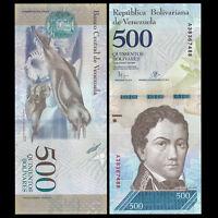 Venezuela 500 Bolivares, 2016/2017,  P-NEW, NEW ISSUE, UNC