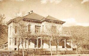 H65/ Salida Colorado RPPC Postcard c1910 D&RG Railroad Hospital Building 73