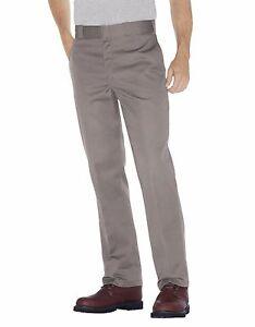 Dickies Homme Argent Travail Pantalon 874 Original Fit Tailles 30 Pour 42