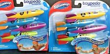 SwimWays Toypedo Bandits Set Of 8 Dive Toys Torpedos NEW Original Packaging -A1F