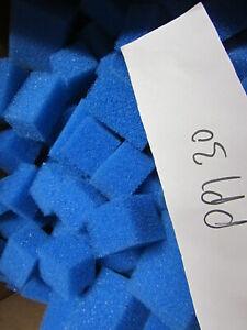 Filterwürfel   für Biofilter blau  PPI 30 90 Liter  ( 0,28 Euro Liter )