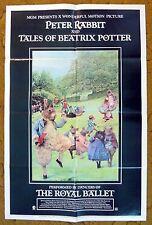 """PETER RABBIT & TALES OF BEATRIX POTTER"" Opera Children's Story - Movie poster"
