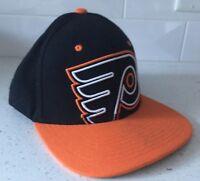PHILADELPHIA FLYERS Big Logo Zephyr Hat - NHL Hockey Cap