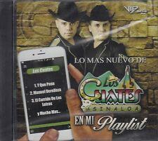 Los Cuates De Sinaloa En Mi Playlist CD New Nuevo Sealed