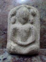 Phra Naga Prok Kru Nadoon Ancient Buddha Divaravati Thai Talisman Amulet
