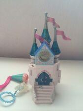 1997 trendmasters Cinderella castle bubble wand palace figures Polly pocket