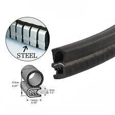 Pinch Weld Bulb Rubber Strip Cars Door Protection Sound Insulation Dustproof 6M