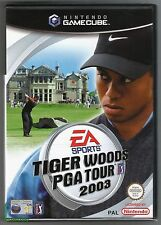 Gamecube Tiger Woods PGA Tour 2003, UK Pal, Nintendo Factory Sealed