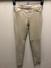 Girls Childrens Place Jeggings Uniform Pants 14 Slim Khaki