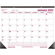 Brownline Monthly Desk Pad 17 X 22 January To December 2022 C1731 Desk