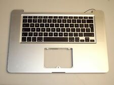 "Apple MacBook Pro 15"" A1286 2010 TOP CASE POGGIAPOLSI UK Layout Tastiera B1"