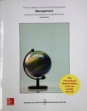 MANAGEMENT: LEADING & COLLABORATING IN A COMPETITIVE WORLD BY Bateman(Global Ed)