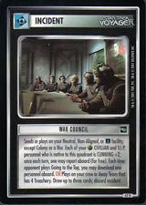 STAR TREK CCG VOYAGER RARE CARD WAR COUNCIL