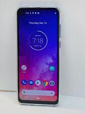 "Motorola One Vision 128GB 6.3"" Display, cell phone Unlocked 48MP Camera - Blue"