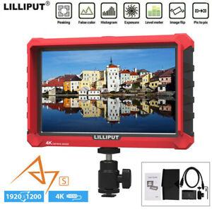 "LILIPUT A7S 7"" HD 1920X1200 IPS 4K Video Monitor For Universal DSLR SLR Camera"