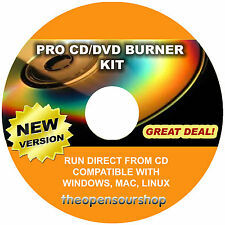 Professional CD & DVD Burner Copying/Replication Software – Easy Disc Writing