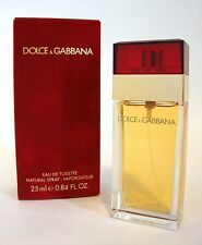 DOLCE & GABBANA RED BOX WOMEN PERFUME EDT .84 OZ SPRAY 25ML ORIGINAL FORMULA NIB