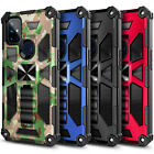 Case For OnePlus Nord N10 5G /N100 Full Body Built-in Kickstand + Tempered Glass