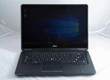 """Dell Ultrabook E7440 14"""" Core i7-4600u 2.1GHZ 16GB 256GB SSD 1080p Win 7 Laptop"""