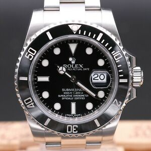 AUTHENTIC MINT ROLEX SUBMARINER REF 116610 G SERIES, RL_446661