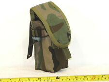 TACTICAL TAILOR WOODLAND CAMO TRIPLE MAG POUCH OLD GEN LIGHT CORD KEEPER
