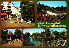 Bad Wörishofen , Ansichtskarte ,1991 gelaufen