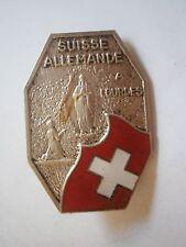 SUISSE ALLEMANDE É QURES Schwyzerdütsch Alemannic Germany badge pin SWITZERLAND