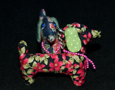 Dachshund Key Rings - Quirky Dali - New Colours Added*****