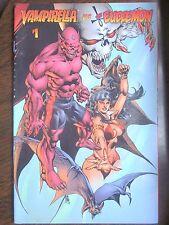 VAMPIRELLA VS. THE EUDAEMON #1 (HARRIS/Vampirella Srikes #5/1996) VF, 8.0