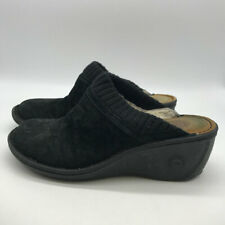 Ugg Black Suede Clogs 9