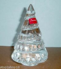 Baccarat Chamonix Clear Fir Tree French Crystal 2611653 New