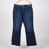 Levi's 515 Bootcut Dunkelblau Damen Jeans DE 38 / US W30 L30