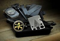 Green Beret Tactical Emergency Survival Kit with Credit Card Axe Hiking Camping