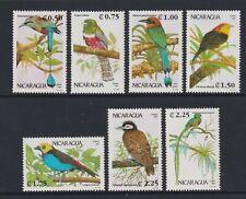 Nicaragua - 1992, Oiseaux Ensemble - MNH - Sg 3175/81