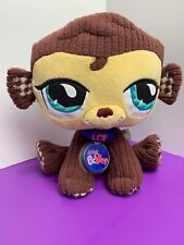 Littlest Pet Shop VIPs Monkey Plush NEW WITH TAG