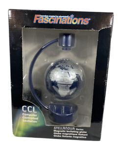 FASCINATIONS Magnetic Levitating Globe Stellanova Series 8 inch Globe