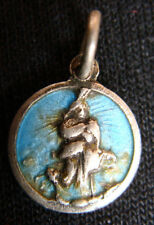 RARE ANTIQUE HOUSE OF THE VIRGIN MARY KAPULU EFES  SMALL SILVER MEDAL PENDANT