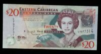 Eastern Caribbean $20 Dollars World Foreign Banknote Currency High Grade #146