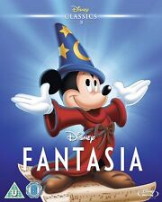 FANTASIA [Blu-ray] (1940) Disney Animated Original Classic Movie w/ Slipcover