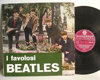 I Favolosi Beatles LP Italy 1st press