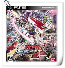 PS3 GUNDAM EXTREME VS JAPANESE SONY Playstation Action Games Namco Bandai